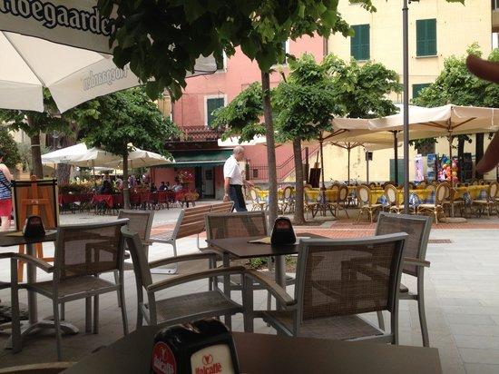 Photo of Italian Restaurant El Dorado Wine Bar at Piazza Garibaldi, Monterosso al Mare, Italy