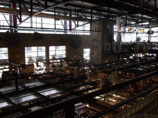 Milwaukee Public Market: view from second floor