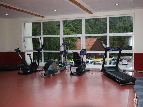 Morada Hotel Alexisbad: Fitnessraum
