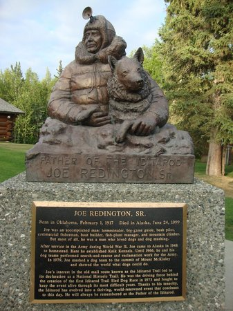 Iditarod Headquarters: Joe Redington Sr - driving force behind 1st race in 1973
