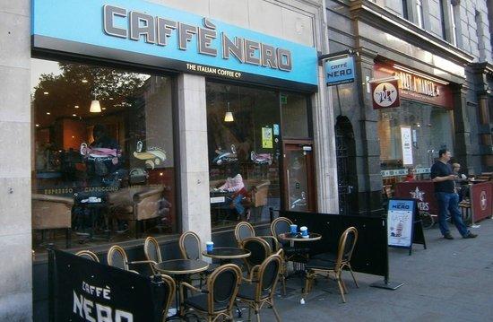 Grange Strathmore Hotel: Popular London Coffee Shop (My Favorite)