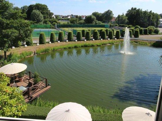 Gerry Weber Sportpark Hotel : Zimmeraussicht