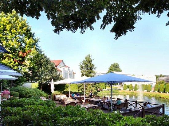 Gerry Weber Sportpark Hotel : Terrasse
