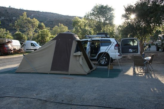 BIG4 MacDonnell Range Holiday Park: Tent site