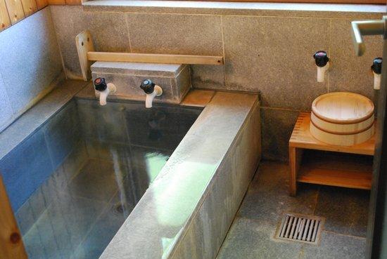 Kakumeikan Matsuzakaya Honten: 内風呂も温泉