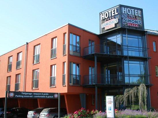 Hotel Simon's Plaza: Restaurant l'Etage