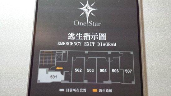 Sun Rise Business Hotel – Taipei Main Station: room layout