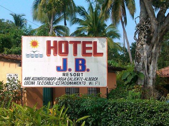 Hotel J.B.: fachada de donde llegamos