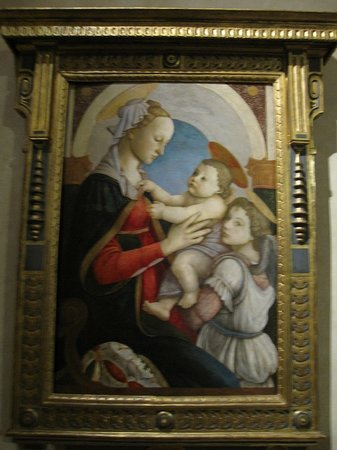 Museo degli Innocenti: ボッティチィリ Madonnna & Child with an Angel