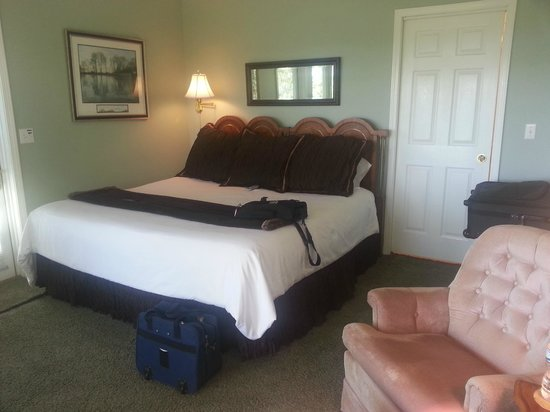 Beaver Lake Cottages: inside suite