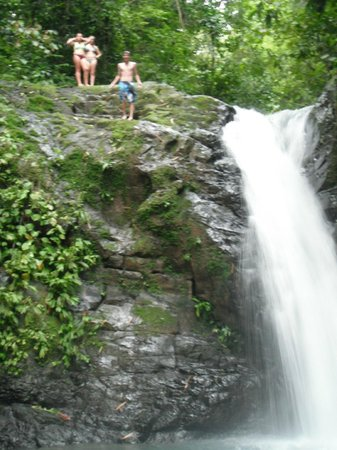 Big Bamboo Uvita: Uvita's waterfall, just 10 minutes walking from The Big Bamboo