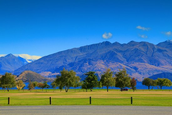 Wanaka View Motel: View from Wanaka View Property