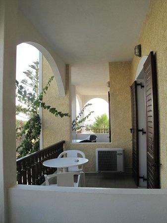 Santa Elena Hotel: alternate view from balcony