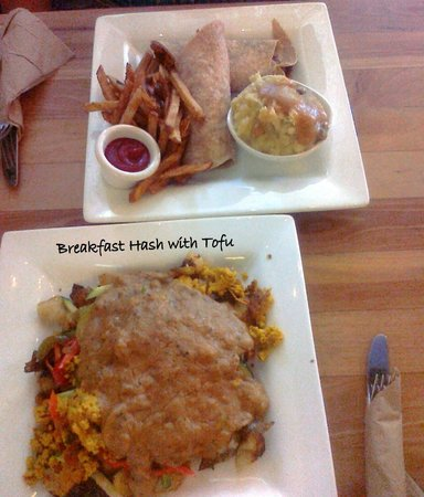 WaterCourse: One Meal of Breakfast Hash and One Wrap