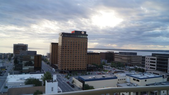 Westmark Anchorage: View from our room