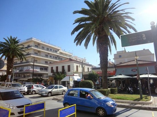 Hotel Sparta Inn : Streets of Sparta