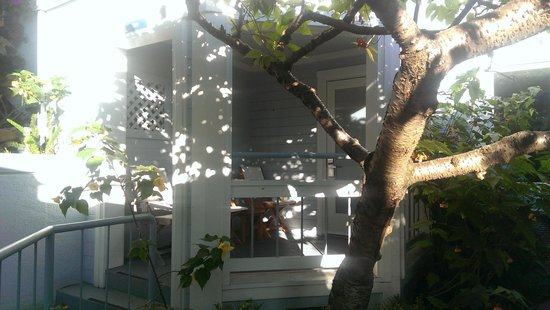 Casa Madrona Hotel and Spa : Porch