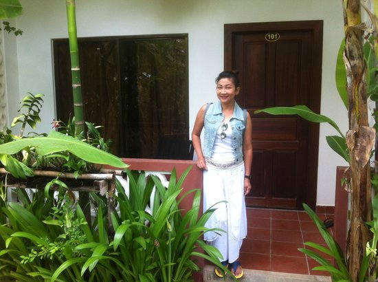 La Niche d'Angkor Boutique Hotel: Outside our room
