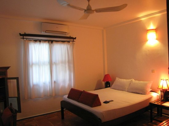 SiZen Retreat & Spa: The bedroom.