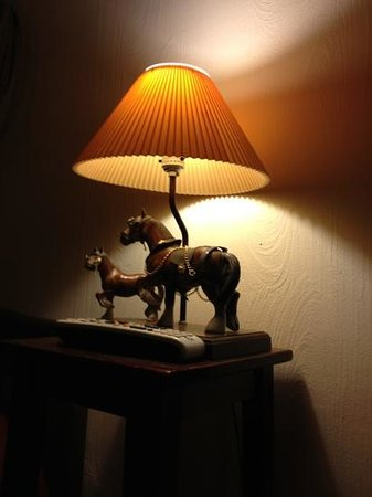 Heppner, OR: Retro lamp