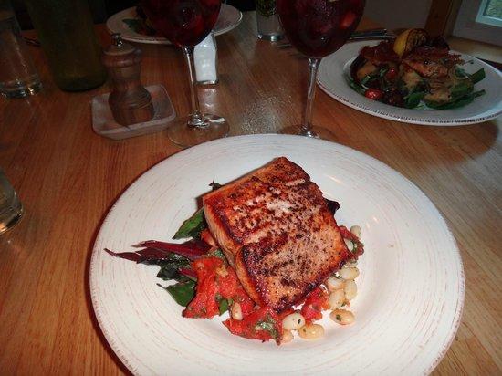 229 Parks Restaurant and Tavern: Savouring Salmon....