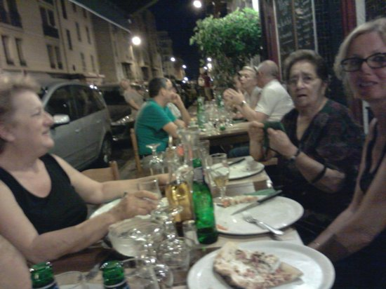 La TARTANE : Bella serata, ottime le pizze.
