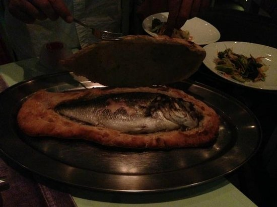 1500 BC : They baked our fish inside a type of bread that made it hold in all the savory flavors! Incredib