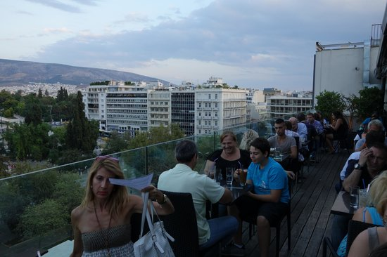Public Cafe: View over Syntagma Square