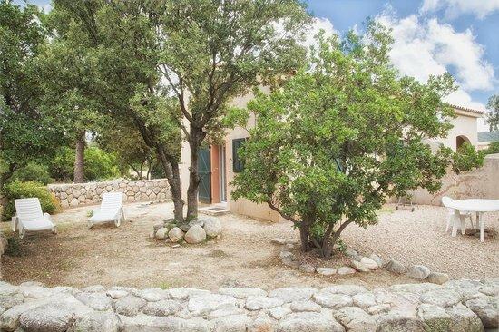 Residence Riviera : jardin privatif