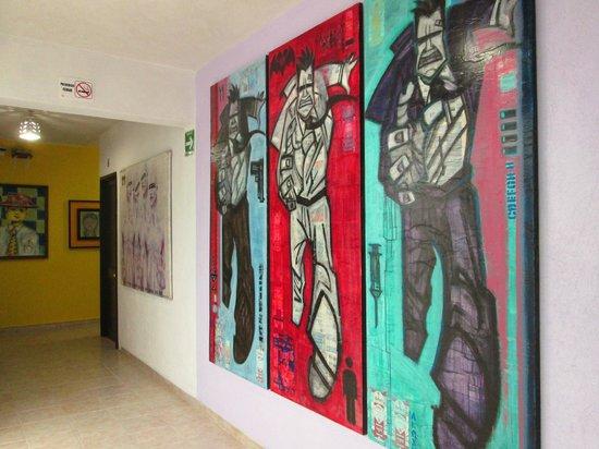 Hotel Belmar: Art in the hotel