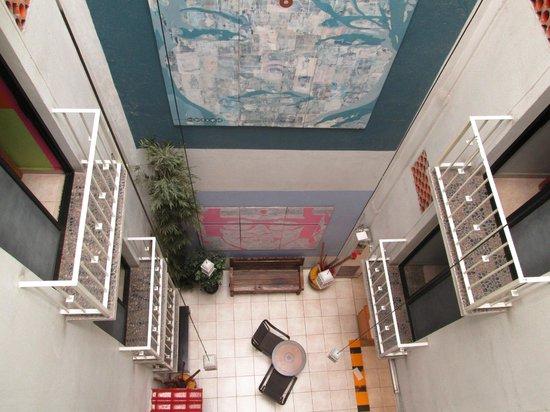 Hotel Belmar : View from the 3rd floor