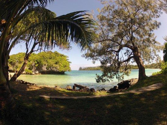 Hotel Kou-Bugny: Une des plages