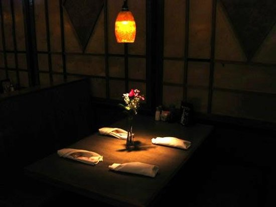 Shogun Japanese Grill & Sushi Bar: table