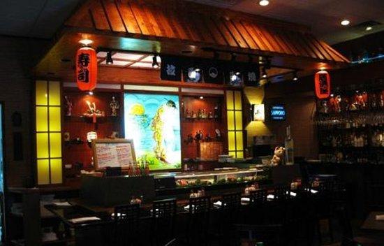 Shogun Japanese Grill & Sushi Bar : sushi bar
