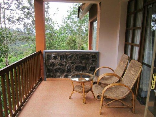 Wild Corridor Resort and Spa by Apodis: balcony  of romantic villa