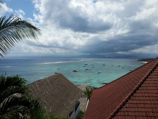 Lembongan Reef Bungalow: lovely oulook