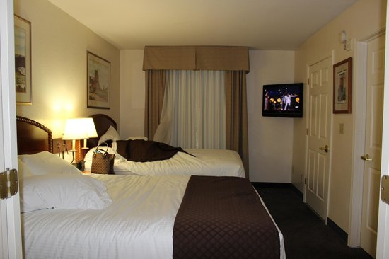 Red Lion Inn & Suites Tempe: room is clean & comfortable, 2 queens beds