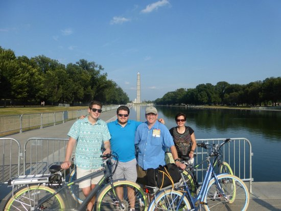 EzBikeRides : On the Capitol Mall