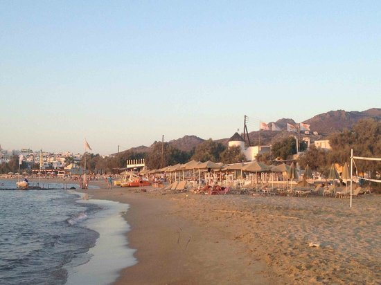 Alkyoni Beach Hotel: Naxos - Flisvos Beach Club