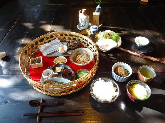 Fukumotoya : 朝食