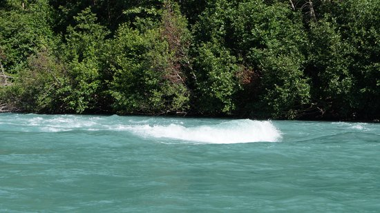 Alaska River Adventures - Day Tours: Biggest water on the trip