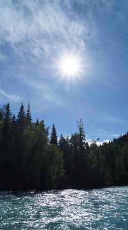 Alaska River Adventures - Day Tours: Sun shinny day!