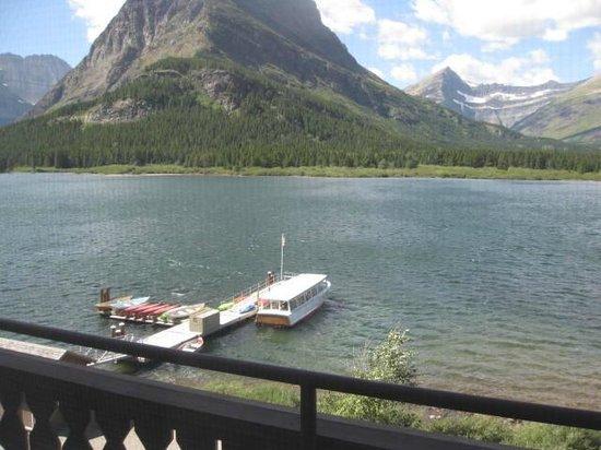 Boat Dock at Many Glacier Lodge