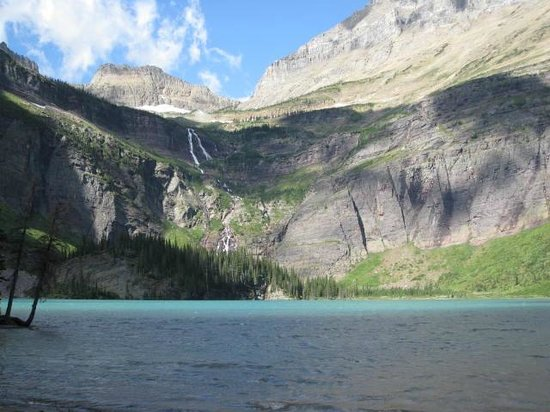 Many Glacier Lodge: Grinnell Lake