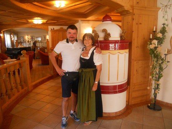 Hotel Malder: Io e la signora Mariangela