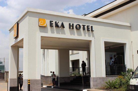 Eka Hotel Nairobi: Entrance to Hotel Eka, Nairobi