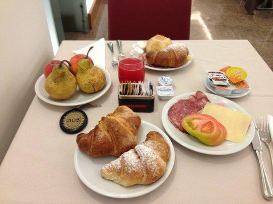 Hotel Italia: завтрак