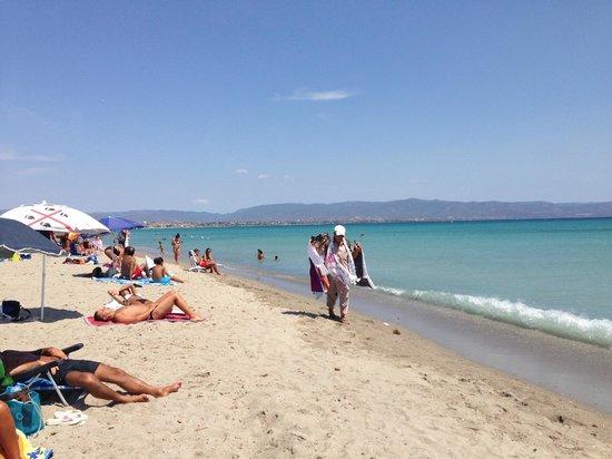 Hotel Italia: пляж