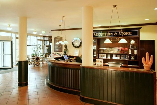 Steigenberger Hotel Sanssouci : Rezeption