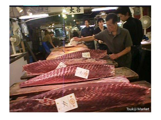 Hotel Nihonbashi Villa: Tsukiji Market
